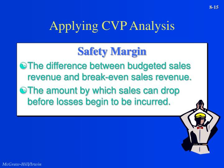 Applying CVP Analysis