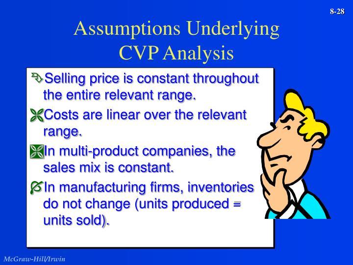 Assumptions Underlying