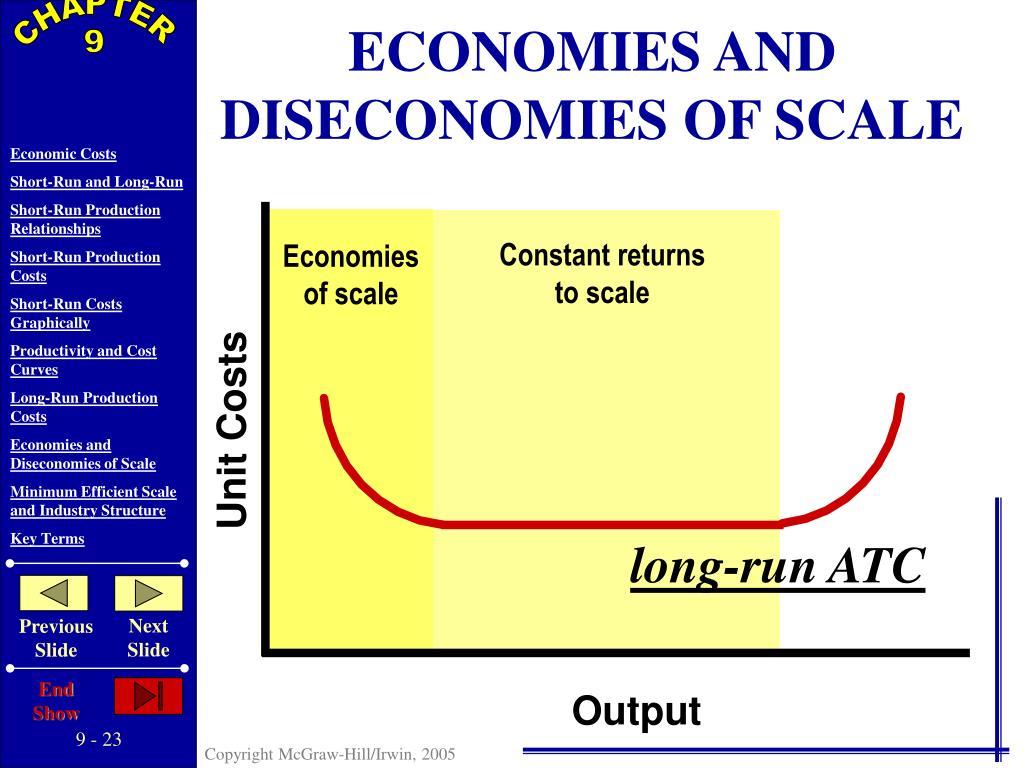 ECONOMIES AND