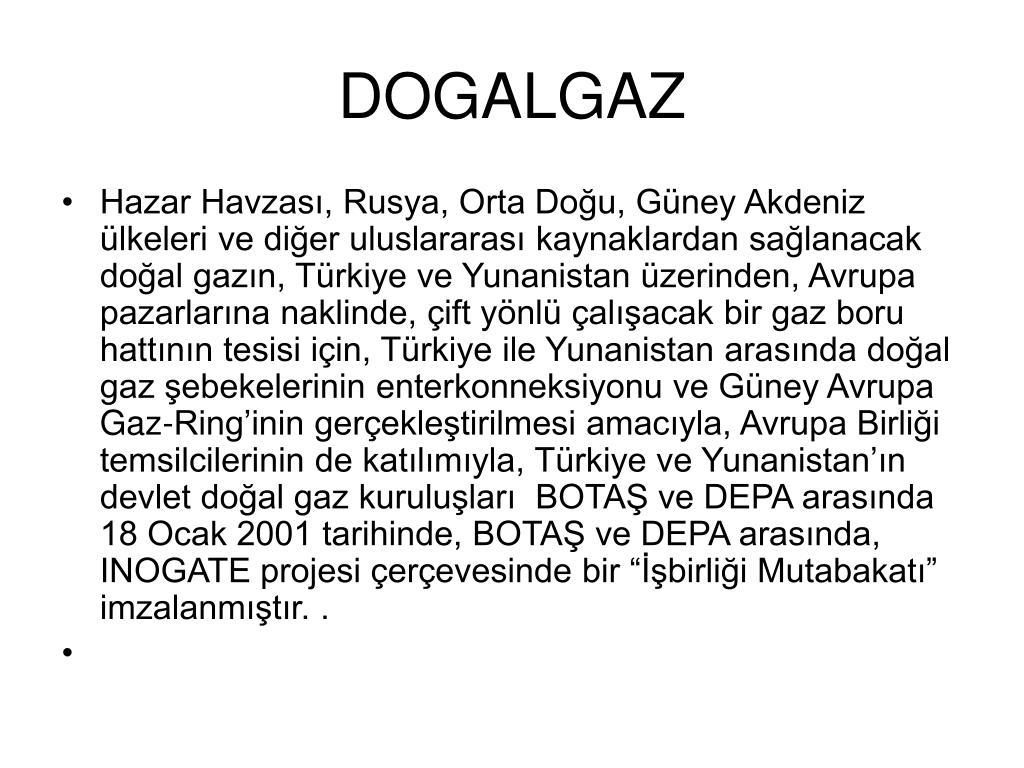 DOGALGAZ