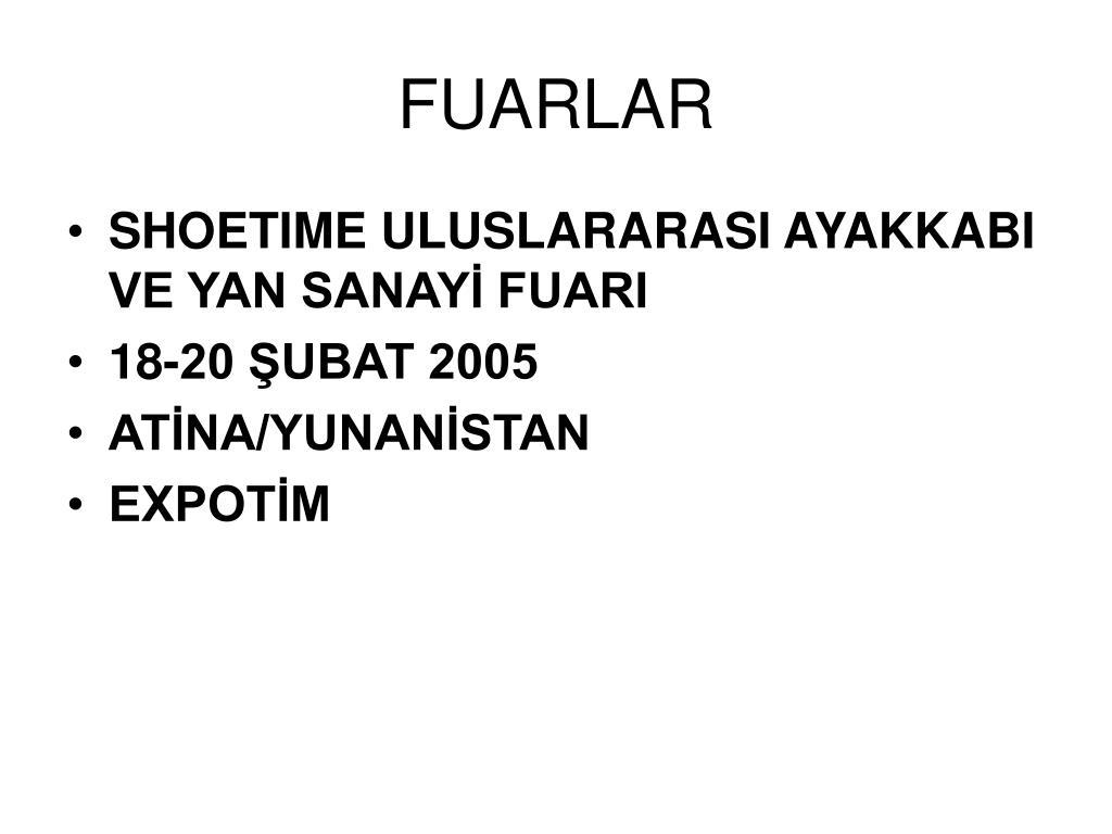 FUARLAR