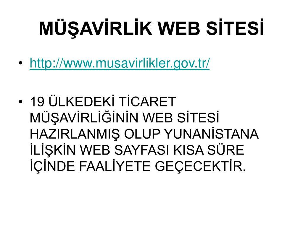 MÜŞAVİRLİK WEB SİTESİ