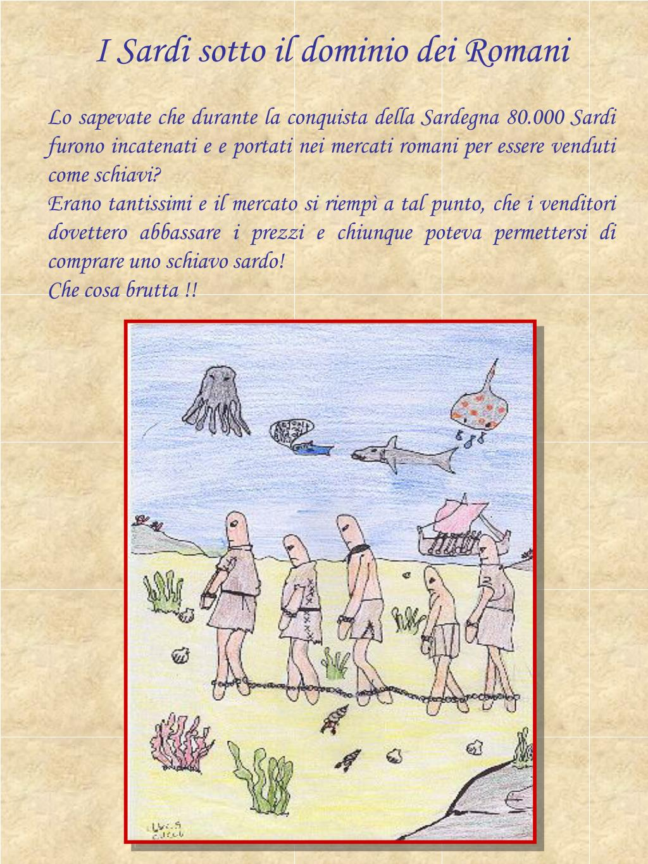 I Sardi sotto il dominio dei Romani