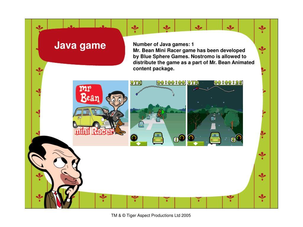 Java game