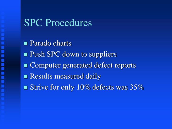 SPC Procedures