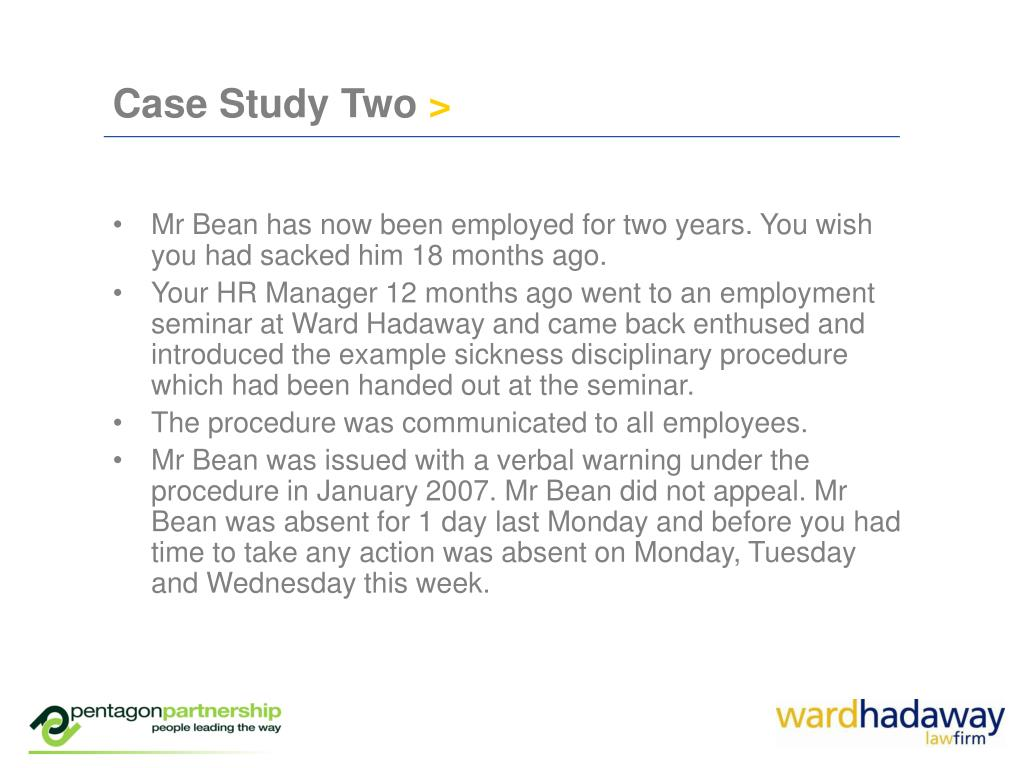 Case Study Two