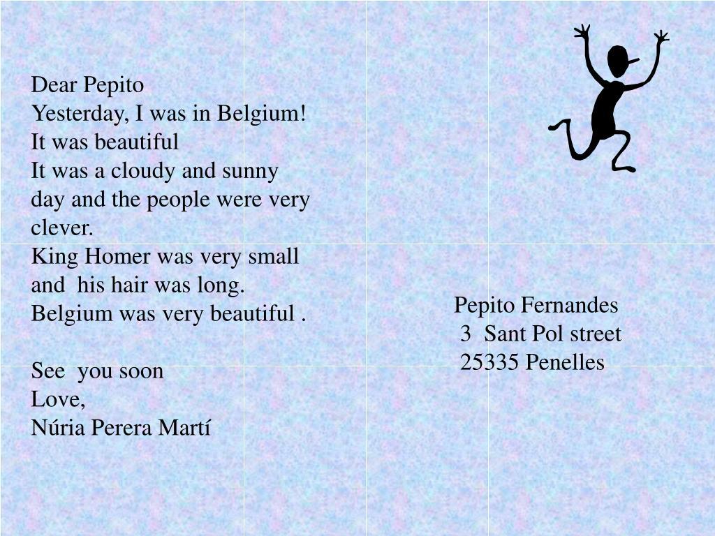Dear Pepito
