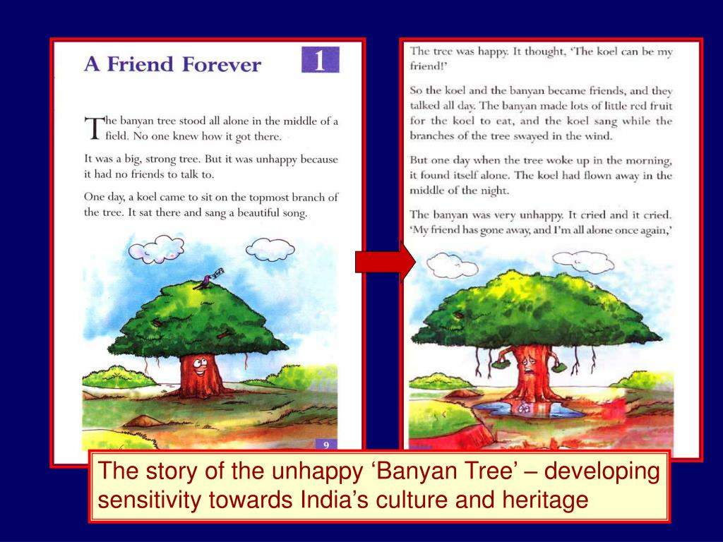 The story of the unhappy 'Banyan Tree' – developing sensitivity towards India's culture and heritage