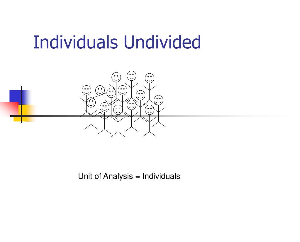 Individuals Undivided
