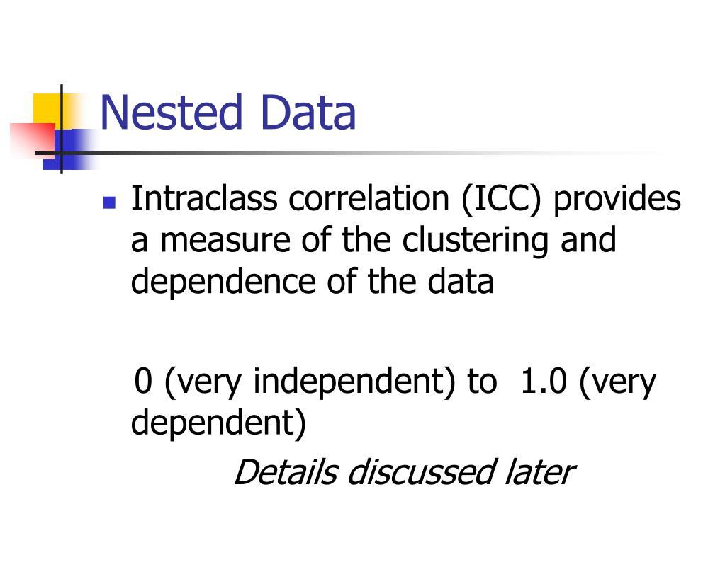 Nested Data