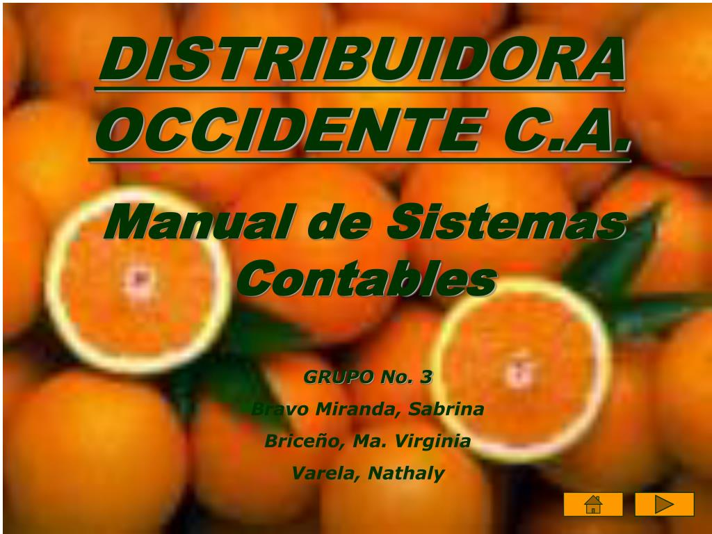 DISTRIBUIDORA OCCIDENTE C.A.