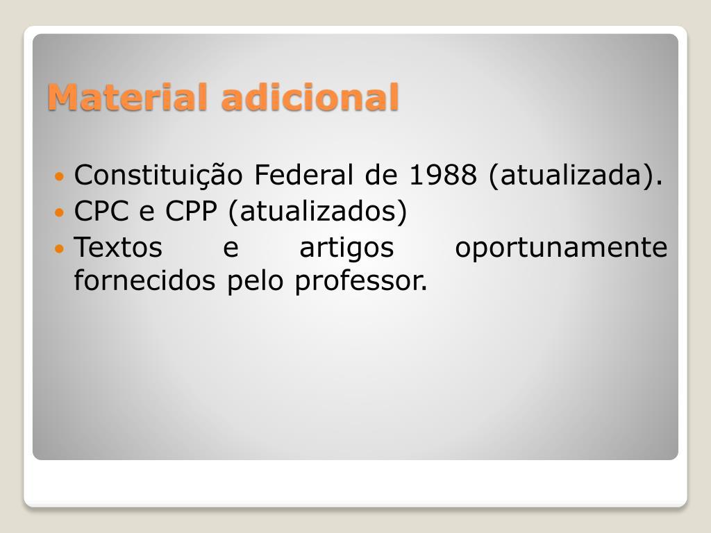Constituição Federal de 1988 (atualizada).