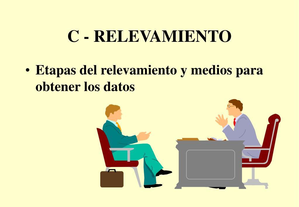 C - RELEVAMIENTO