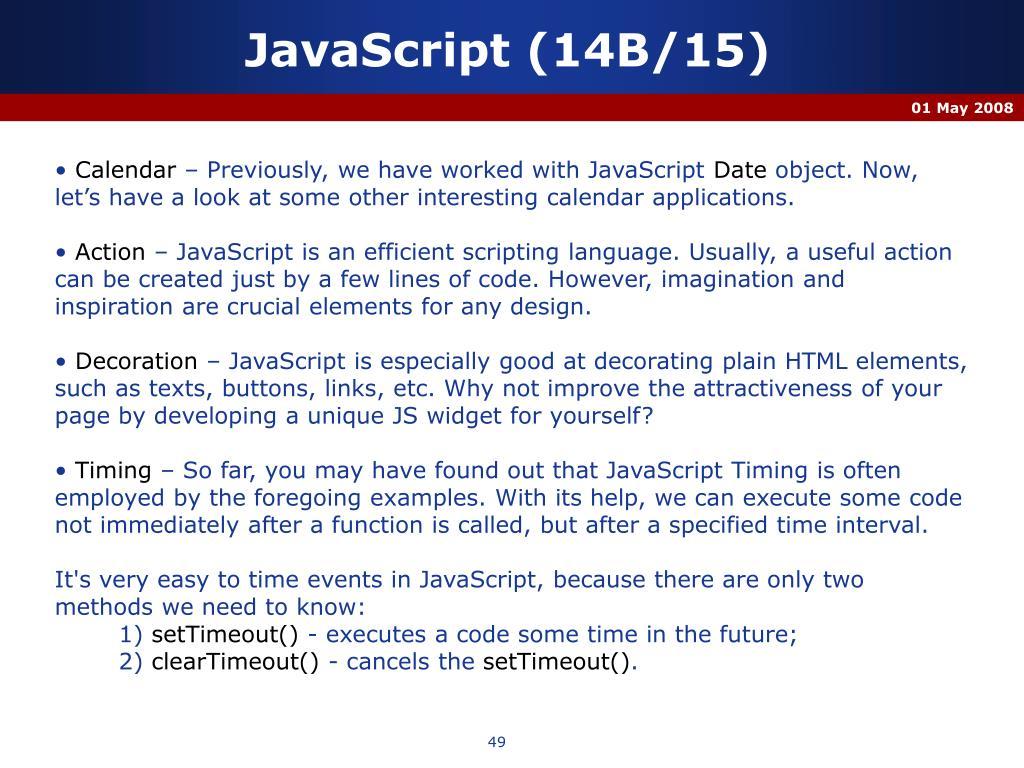JavaScript (14B/15)