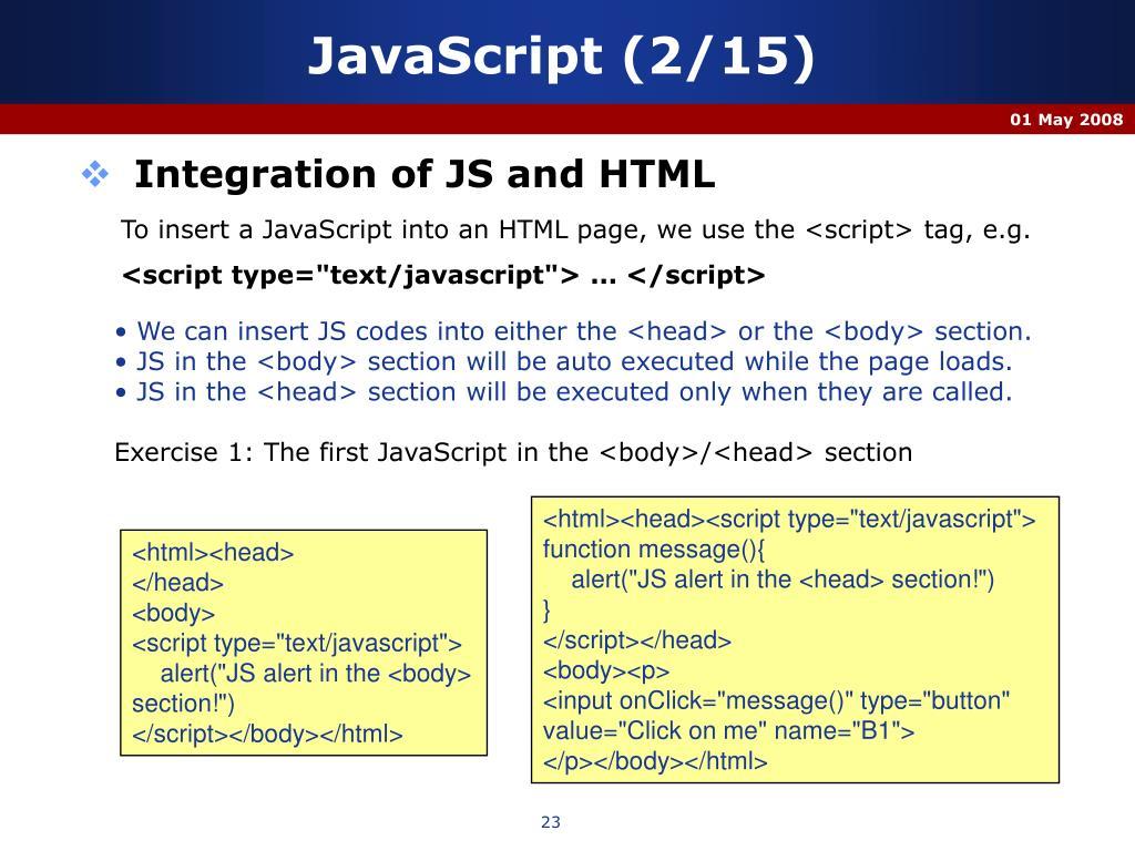 JavaScript (2/15)