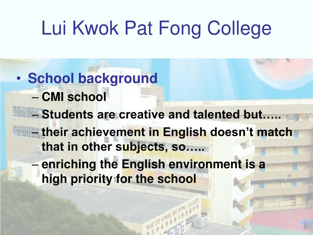 Lui Kwok Pat Fong College