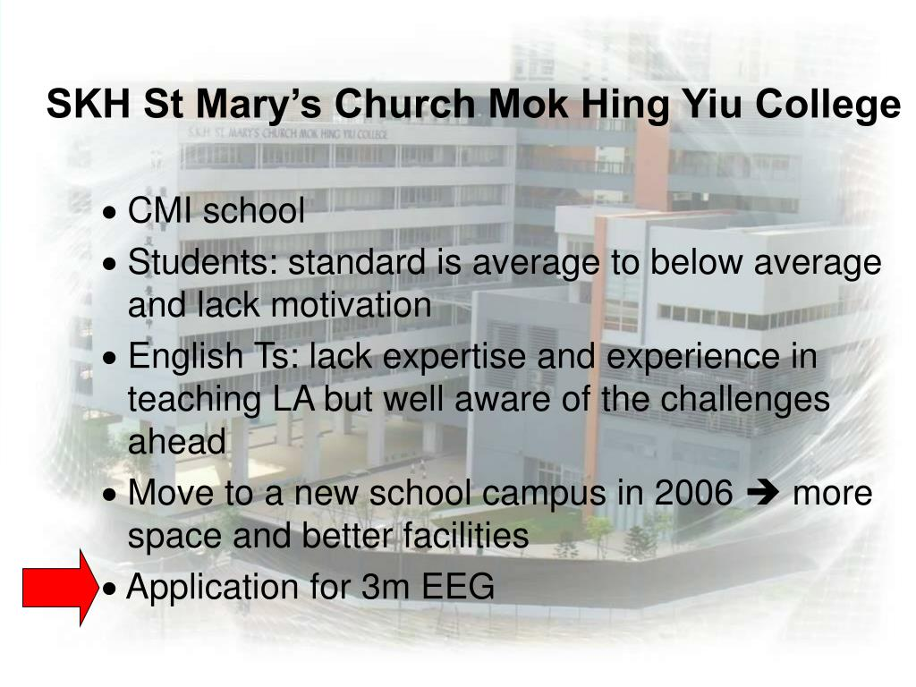 SKH St Mary's Church Mok Hing Yiu College