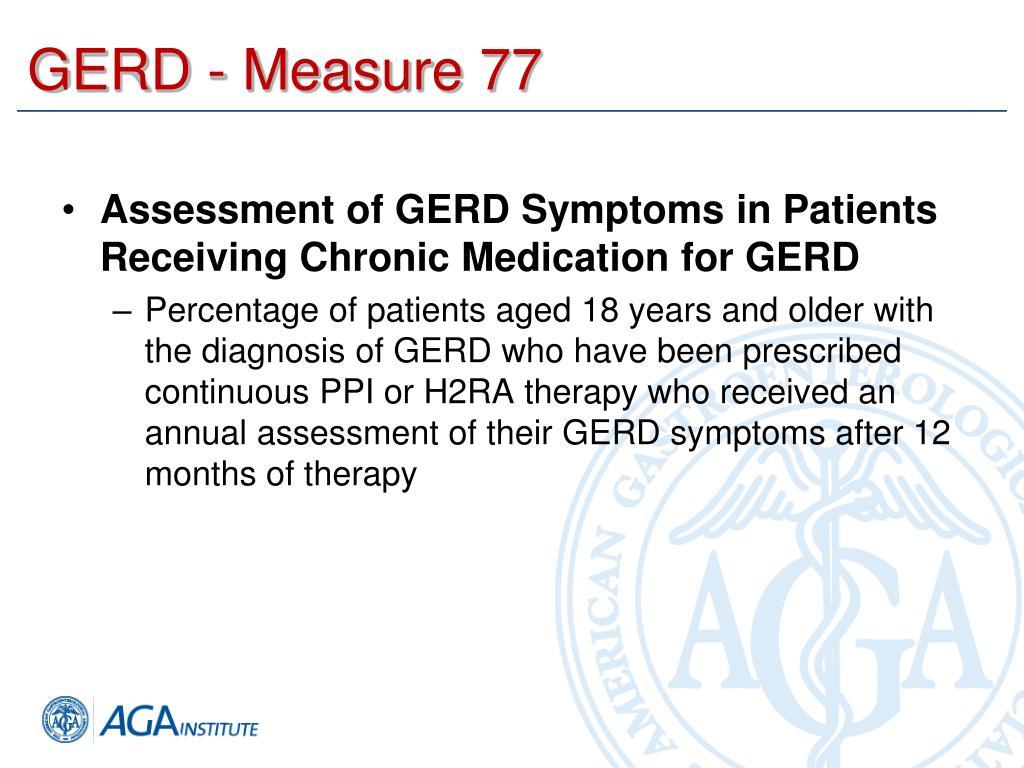 GERD - Measure 77