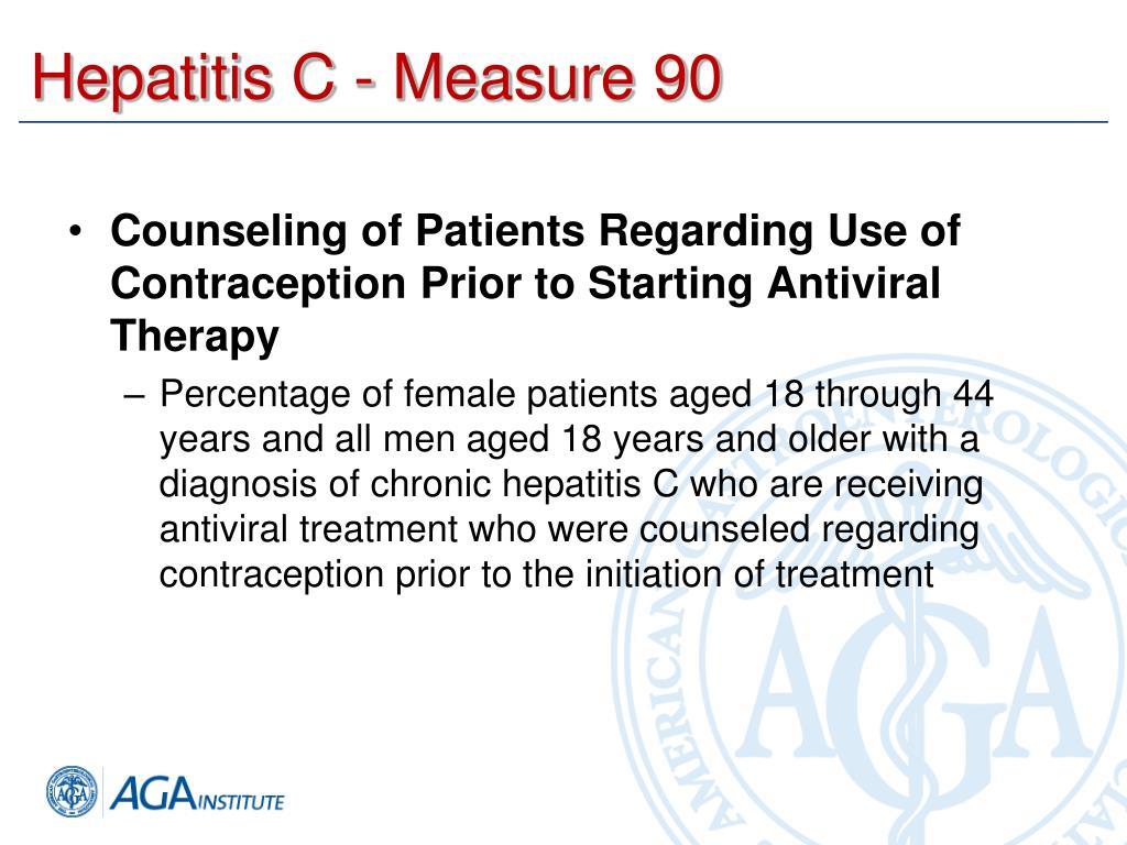 Hepatitis C - Measure 90