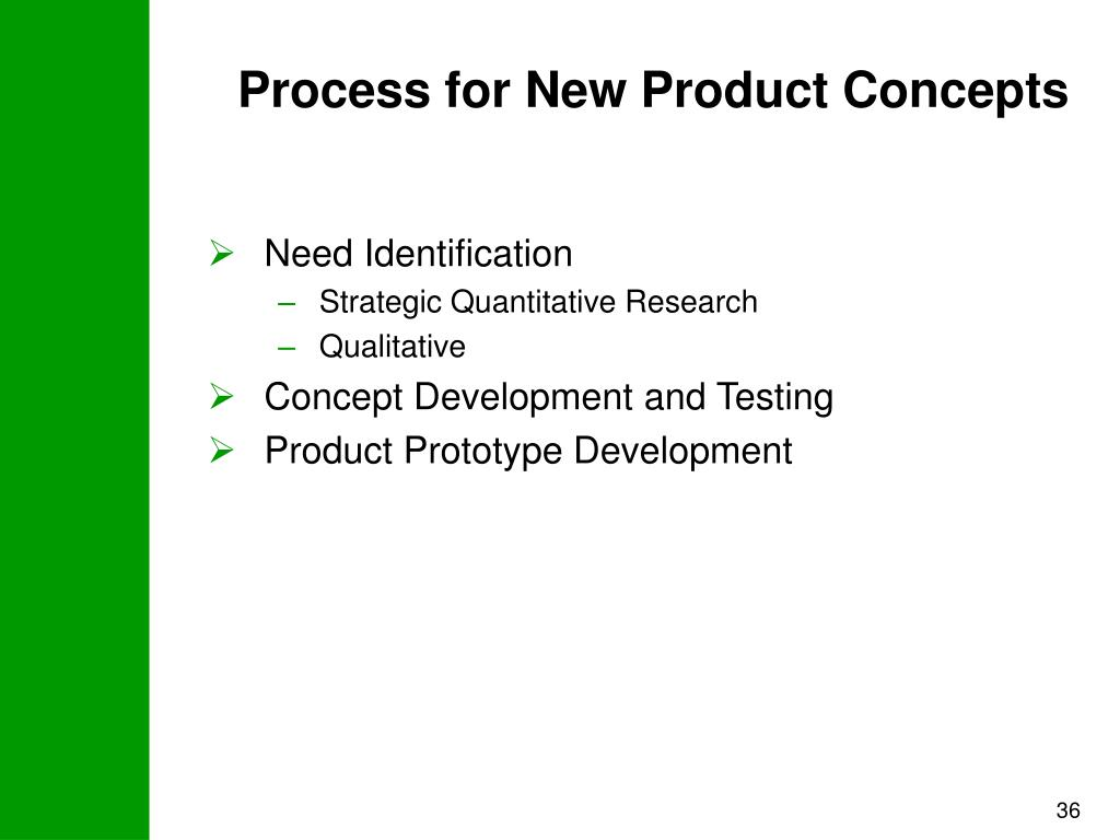 Process for New Product Concepts