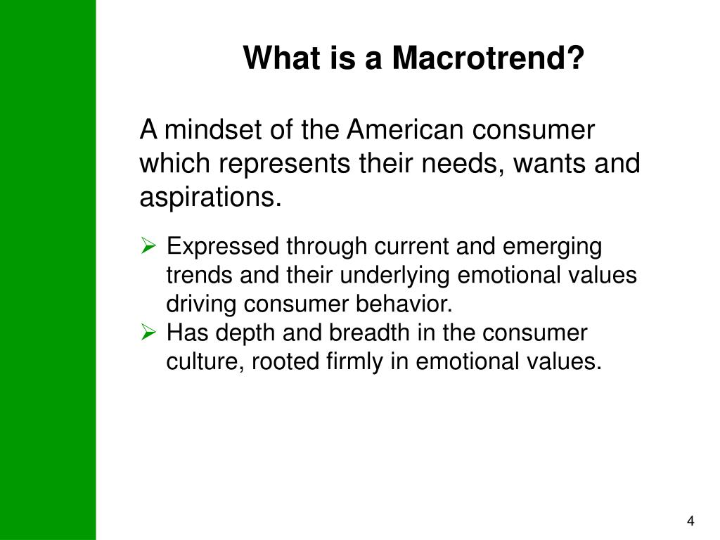What is a Macrotrend?
