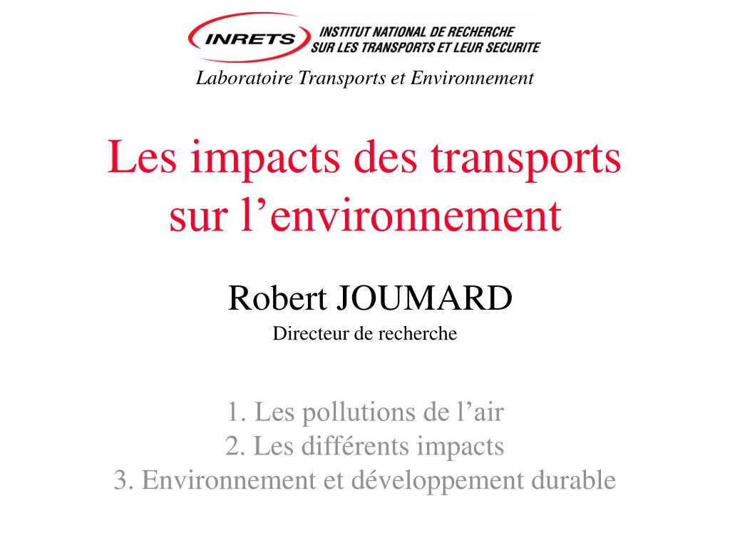 Laboratoire Transports et Environnement