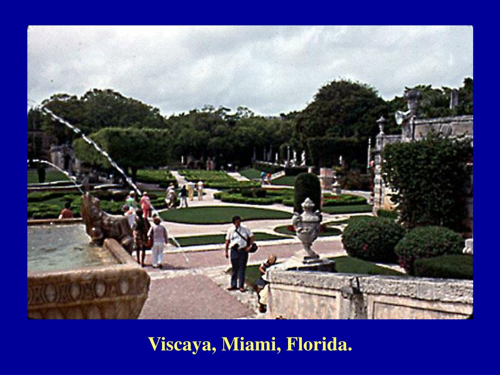 Viscaya, Miami, Florida.
