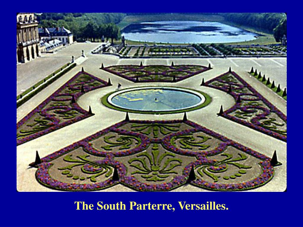 The South Parterre, Versailles.