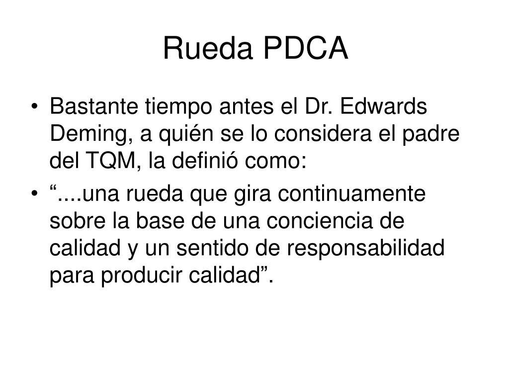 Rueda PDCA