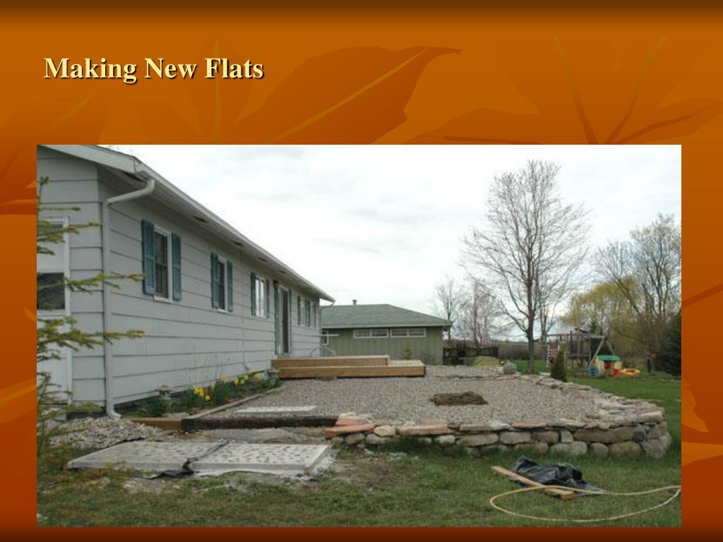 Making New Flats