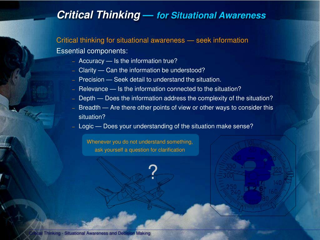 introduction to critical thinking ppt Where will you begin the process to introduce a critical thinking emphasis  aids/handouts/note takers: power point slides and supporting equipment.