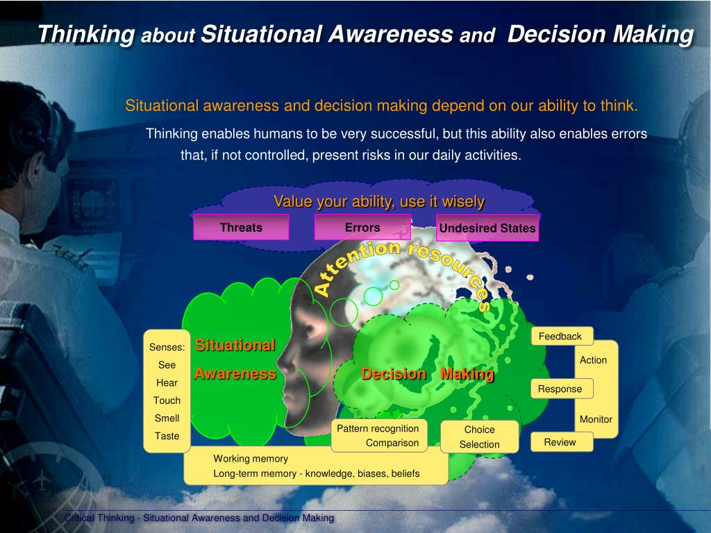 critical thinking in decision making