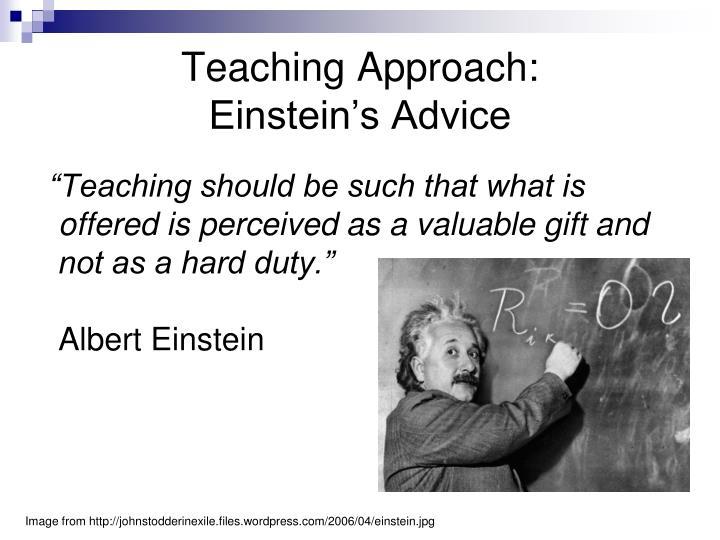 Teaching Approach: