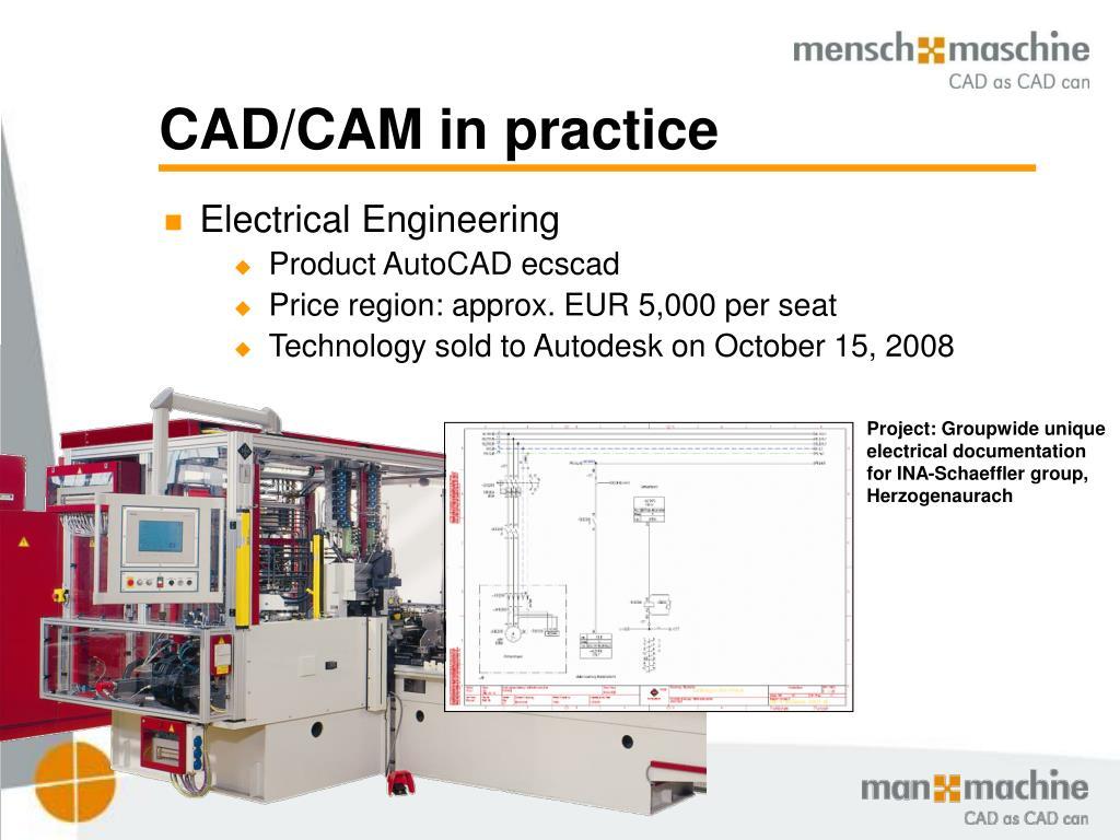 CAD/CAM in