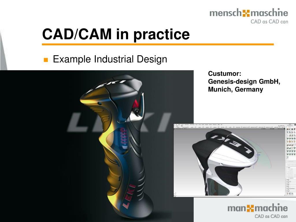 CAD/CAM in practice