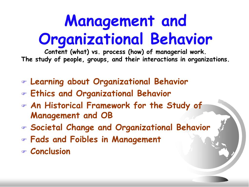 organizational behavior managerial and organizational challenges Challenges and opportunities of organizational behavior topics: employment the managerial orientation in this theory is formal, official authority realities and challenges of organizational behavior behavior is a function of a continuous.