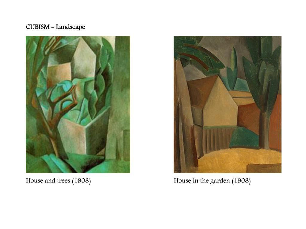 CUBISM - Landscape