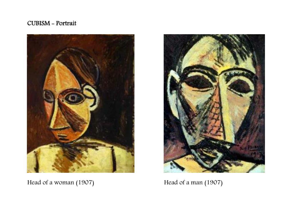 CUBISM - Portrait