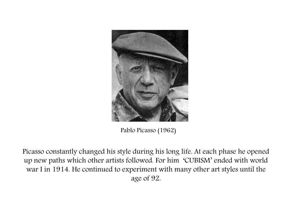 Pablo Picasso (1962)