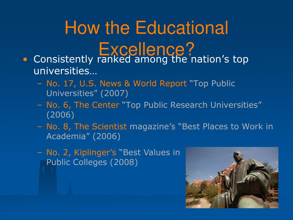 How the Educational Excellence?