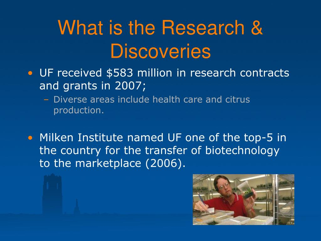 What is the Research & Discoveries