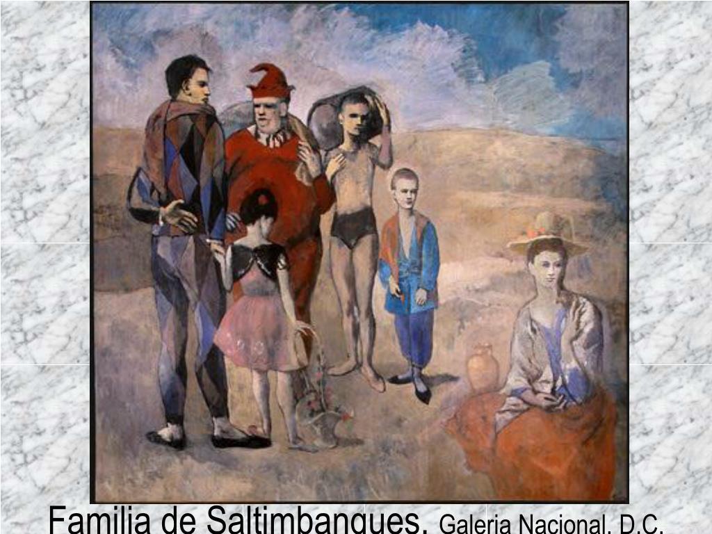 Familia de Saltimbanques,