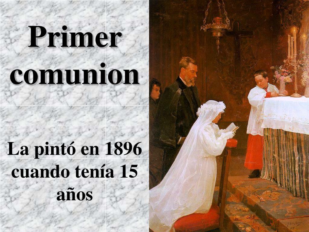 Primer comunion