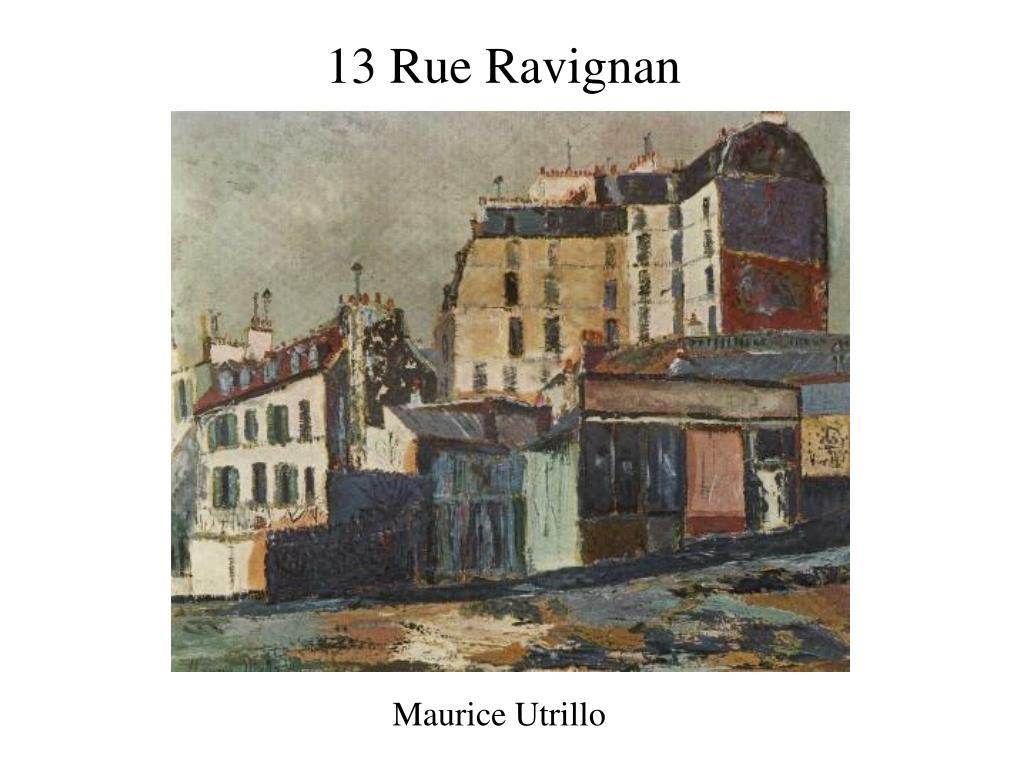 13 Rue Ravignan