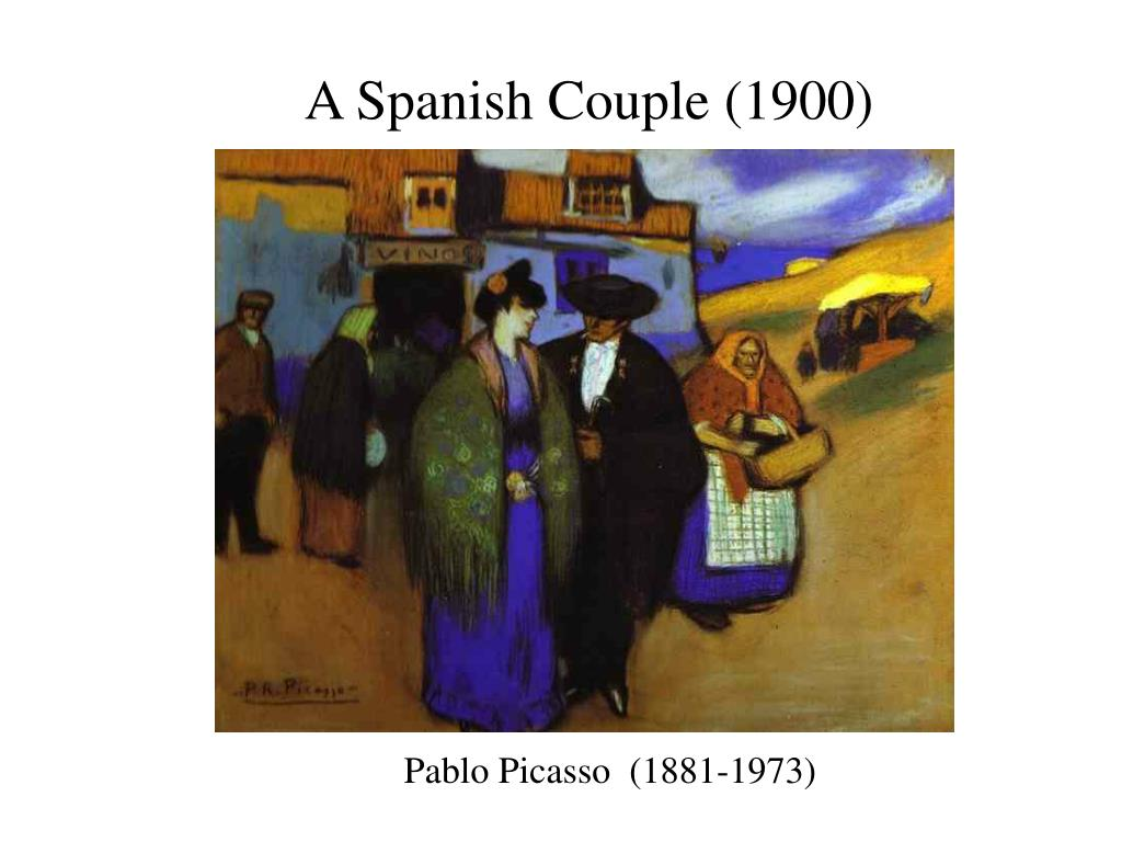 A Spanish Couple (1900)