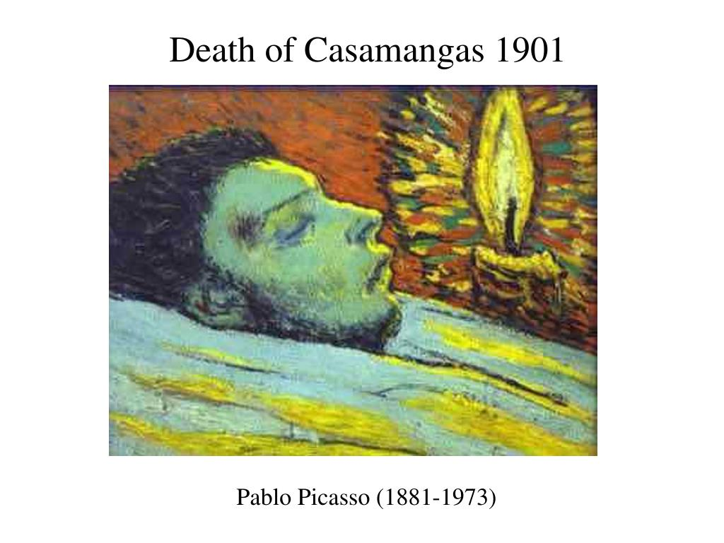 Death of Casamangas 1901