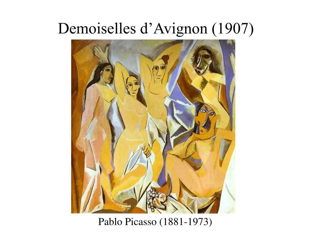Demoiselles d'Avignon (1907)