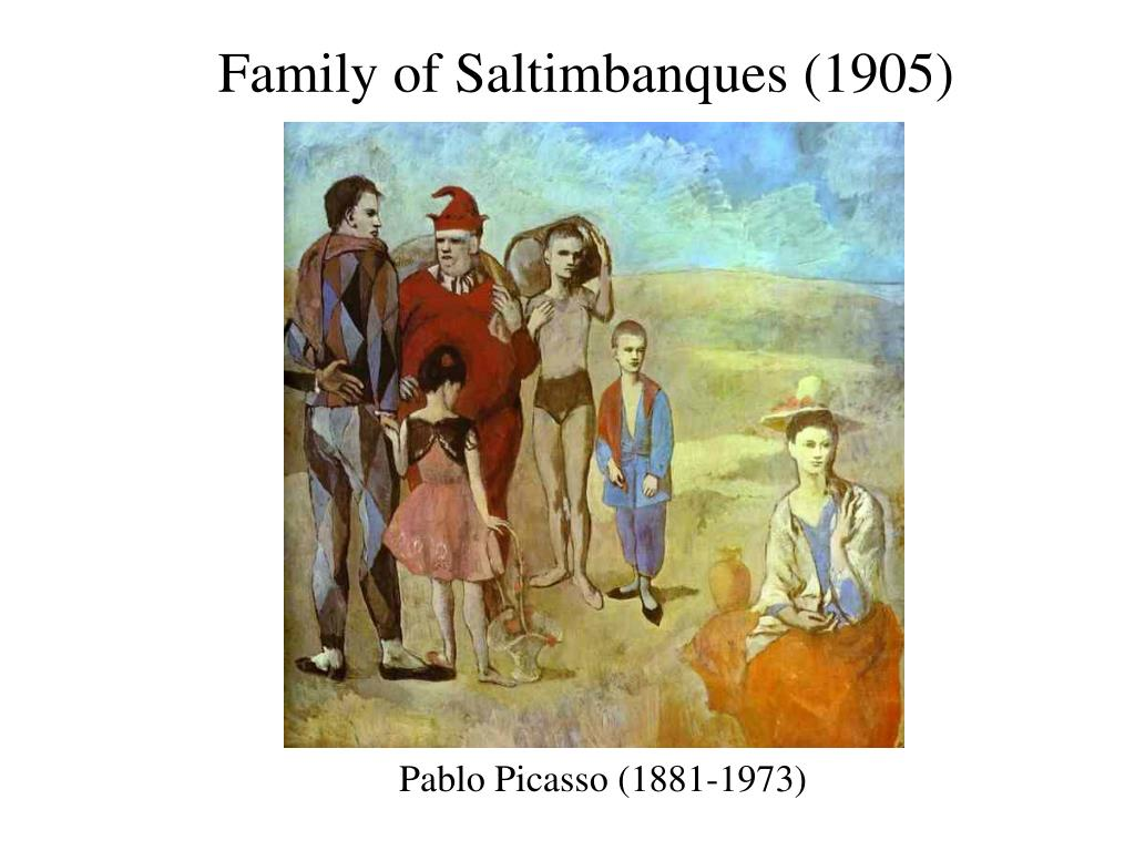 Family of Saltimbanques (1905)