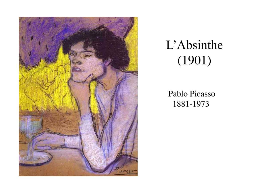 L'Absinthe (1901)