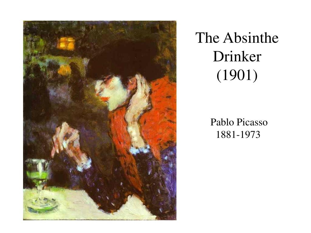 The Absinthe Drinker (1901)